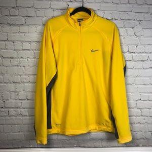 Nike Mens Therma Fit Fleece 1/4 Zip Sweatshirt